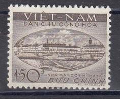 Vietnam Nord 1958 - Engineering Exhibition In Hanoi, Mi-Nr. 86, MNH** - Vietnam