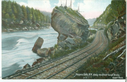 Niagara Falls Along The Great Gorge Route - The Giant Rock - Not Circulated. - NY - New York