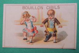 Chromo CIBILS. Cibils Bouillon Cibils. Enfants. Doigt écrasé.marteau. Sang - Non Classificati