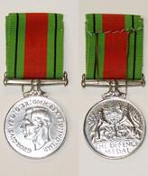 Militaria_GB02_Médaille De La Defense 1935-1945_Defence Medal – WW2 - United Kingdom