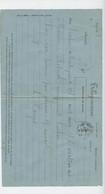 Télégramme, 1877, Pour Luchon De Montréjeau, Cachet Bagnères De Luchon, Demande De Paiement à  Madame Betmale - Telegraph And Telephone