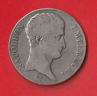 5 FRANCS NAPOLEON, EMPEREUR  1806 A  TB - J. 5 Francs