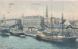 RIGA - Der Düna - Latvia
