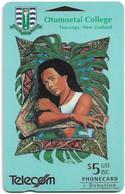 New Zealand - NZT (GPT) - Fund Cards - Otumoetai College, Tongan Girl, 1993, 5$, 14.500ex, Used - Nuova Zelanda