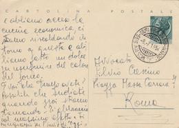 INTERO POSTALE L.20 1954 TIMBRO SIUSI BOLZANO -BILINGUE (KP569 - 6. 1946-.. Repubblica