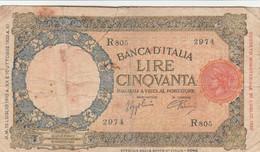 BANCONOTA 50 LIRE ITALIA VF (KP697 - 50 Lire