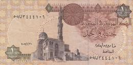 BANCONOTA EGITTO VF (KP722 - Egypte