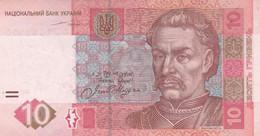 BANCONOTA UCRAINA 10 VF (KP744 - Ucrania