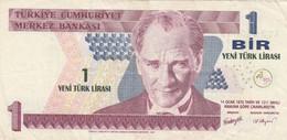 BANCONOTA TURCHIA 1 LIRA 1970 (083 VF (KP786 - Turchia