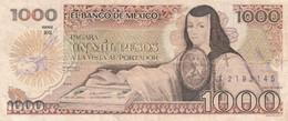 BANCONOTA MESSICO 1000 PESOS VF (KP876 - Mexiko