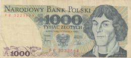 BANCONOTA POLONIA 1000 1982 VF (KP892 - Poland