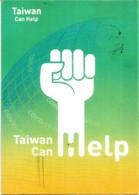 COVID19 TAIWAN (postcard Coronavirus) TAIWAN CAN HELP, Sent To Andorra, During Covid19 Lockdown, W/prevention Sticker - Taiwan