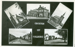 Groeten Uit Valburg 1958 - Gelopen. (P.J.W. Zwartkruis - Valburg) - Holanda