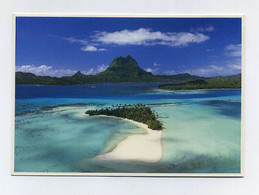 CP Utilisée. Vue Aérienne De Motu Tapu à Bora-Bora. Teva Sylvain Post Cards. Pacific Promotion, Tahiti. Polynésie - Polinesia Francese