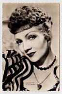 S38-019 Portrait De Claudette Colbert - Entertainers