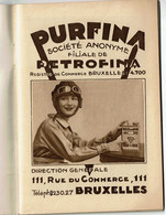 1930s - Manuel De Graissage - PURFINA - Petrofina - Nombreuses Illustrations Ertvelde Raffinerie / Usine / Laboratoire - Sonstige