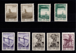 Chine - YV 1000 (2) / 1001 (2) / 1002 (2) / 1003 (2) / 1005 NSG MNG As Issued - 1949 - ... Volksrepublik