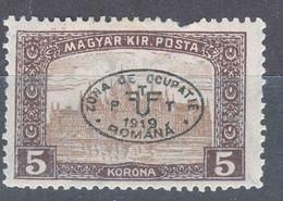 Hungary Debrecen Debreczin 1919 Parliament Mi#32 Mint Hinged - Debreczen