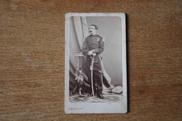 Cdv Second Empire  Le Capitaine De Beaune Légion D'honneur Et Une à Identifier  Par Provost  Toulouse - War, Military