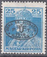 Hungary Debrecen Debreczin 1919 Mi#40 B, Mint Hinged - Debreczen