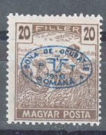Hungary Debrecen Debreczin 1919 MAGYAR POSTA Mi#68 Mint Hinged - Debreczen