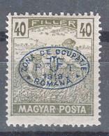 Hungary Debrecen Debreczin 1919 MAGYAR POSTA Mi#70 Mint Hinged - Debreczen