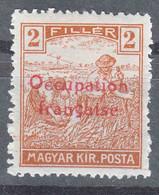 France Occupation Hungary Arad 1919 Yvert#4 Mint Hinged - Nuovi