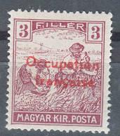 France Occupation Hungary Arad 1919 Yvert#5 Mint Hinged - Nuovi