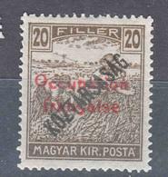 France Occupation Hungary Arad 1919 Yvert#32 Mint Hinged - Neufs