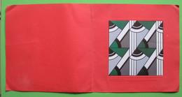 Peinture Invitation Galerie Daniel Varenne Geneve Oeuvres Impressionistes Illustration Lichtenstein Papier Collé 28x28cm - Altre Collezioni