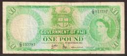 FIJI. 1 Pound 1.12.1961. Pick 53d - Fiji