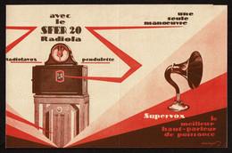 1925 - Publicité SFER20 Radiola - Radiolavox - Le Meilleur Haut-parleur D'intérieur - Voir Scans - Advertising