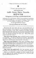 Lo, St Michiels-Brugge: 1963, Judith Bovyn, Fonteyne - Santini