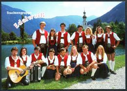 E0844 - TOP Trachtengruppe Edelweiß Autogrammkarte - Autografi