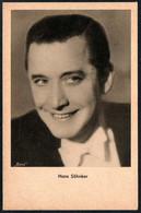 E0846 - TOP Hans Söhnker Autogrammkarte - Ross - Das Programm Von Heute - Zeitschrift Für Film Theater - Autografi
