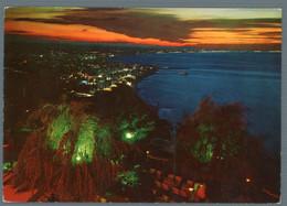 °°° Cartolina - Riviera Adriatica Notturno Da Gabicce Monte Viaggiata °°° - Rimini