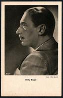 E0847 - TOP Willy Birgel Autogrammkarte - Ross - UFA - Autografi