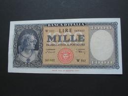 SUPERBE !!!!   1000 Mille LIRE 1948  - ITALIE - Banca D'Italia  **** EN ACHAT IMMEDIAT **** - [ 2] 1946-… : Républic