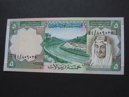 SUPERBE !!!   5 Five Riyals 1977 - Saudi Arabian Monetary    **** EN ACHAT IMMEDIAT **** - Saudi Arabia