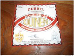 ETIQUETTE BIERE ABDIJ TER DUINEN DUBBEL - Beer