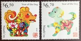 Tonga Niuafo'ou 2018 Year Of The Dog MNH - Tonga (1970-...)