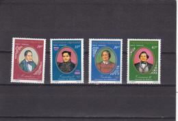 Polinesia Nº A117 Al A120 - Unused Stamps