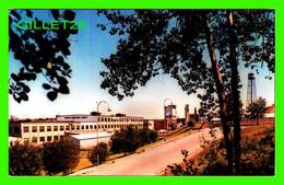 DOLBEAU, QUÉBEC - USINE DOMTAR NEWSPRINT LIMITED - CIRCULÉE EN 1963 -  PHOTO ROSS - - Quebec
