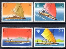 FIJI - 1977 CANOES SET (4V) FINE MNH ** SG 545-548 - Fiji (1970-...)