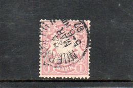 BAVIERE 1881-1901 O - Bavière