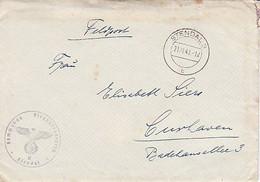 Stendal Feldpost Nachrichtenführer Lettre Couvert Brief Enveloppe Luftwaffe - 1939-45