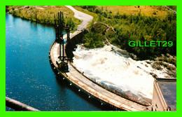 MATTAGAMI, QUÉBEC - SMOOTH ROCK FALLS, IN 1916 MATTAGAMI PULP AND PAPER CO BUILT THIS DAM - TRAVEL IN 1985 - ALEX WILSON - Quebec
