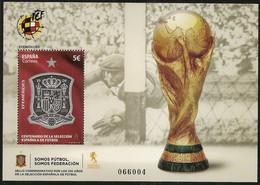 2020-ED. 5429 H.B - Efemérides. Centenario De La Selección Española De Fútbol - NUEVO - 2011-... Ongebruikt