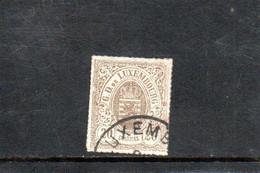 LUXEMBOURG 1865-73 O - 1859-1880 Armoiries