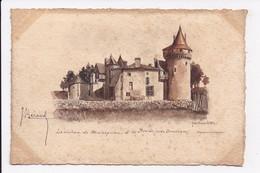 CP ILLUSTRATION 33 Le Chateau De Montesquieu à LA BREDE Pres Bordeaux - France